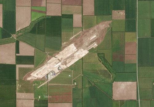 Аэропорт Платов на карте